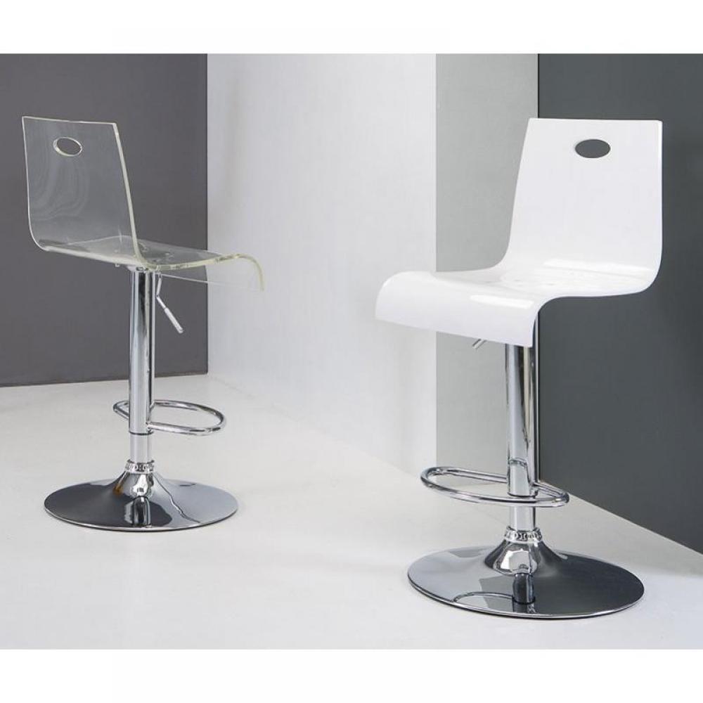 chaise de bar design tendance r tro au meilleur prix chaise de bar virtual stool blanche. Black Bedroom Furniture Sets. Home Design Ideas