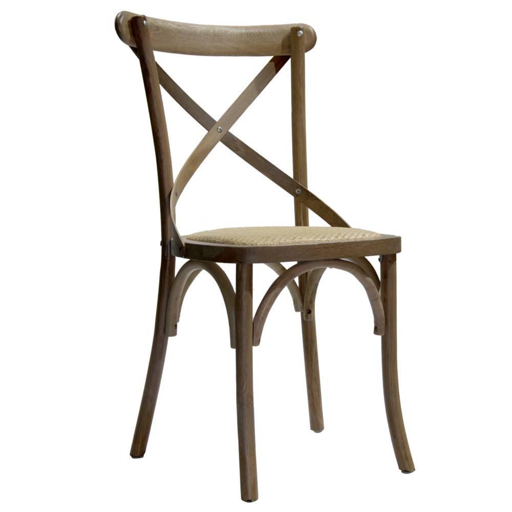 Chaise design ergonomique et stylis e au meilleur prix for Chaise bistrot bois