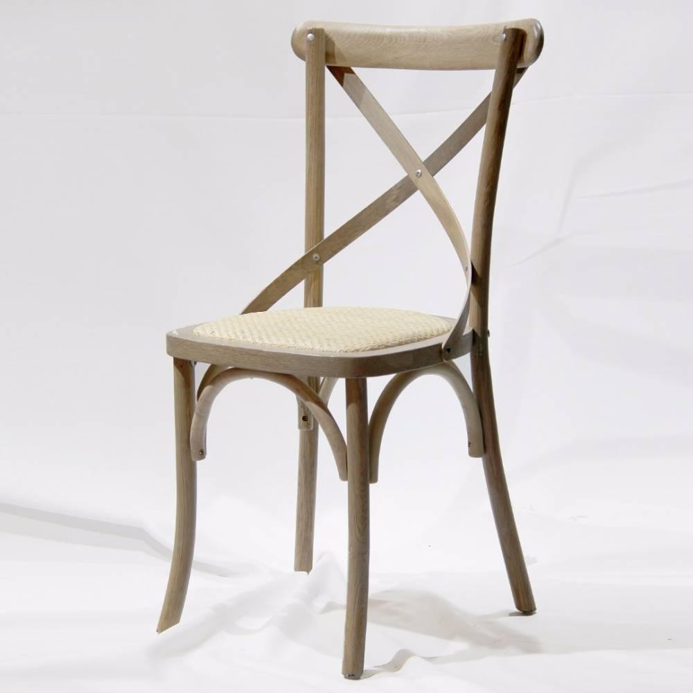 Chaise design ergonomique et stylis e au meilleur prix chaise style bistrot florette gris clair - Style chaises anciennes ...