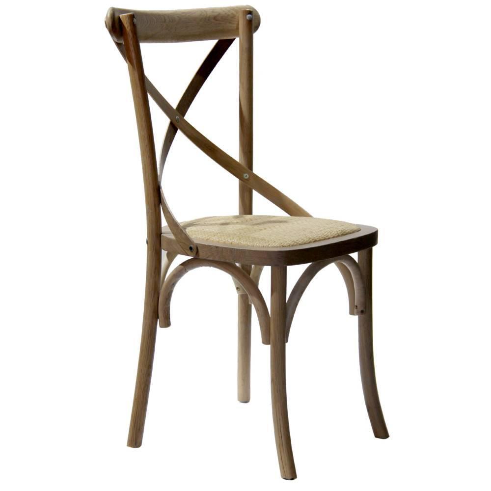 chaise design ergonomique et stylis e au meilleur prix chaise style colonial sigebert bois gris. Black Bedroom Furniture Sets. Home Design Ideas