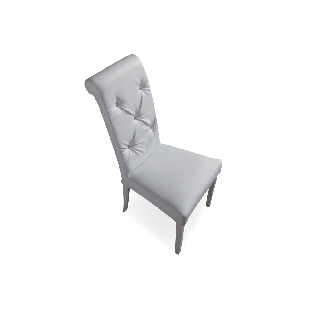 Chaises en cuir blanc 28 images chaise vintage for Chaise design cuir