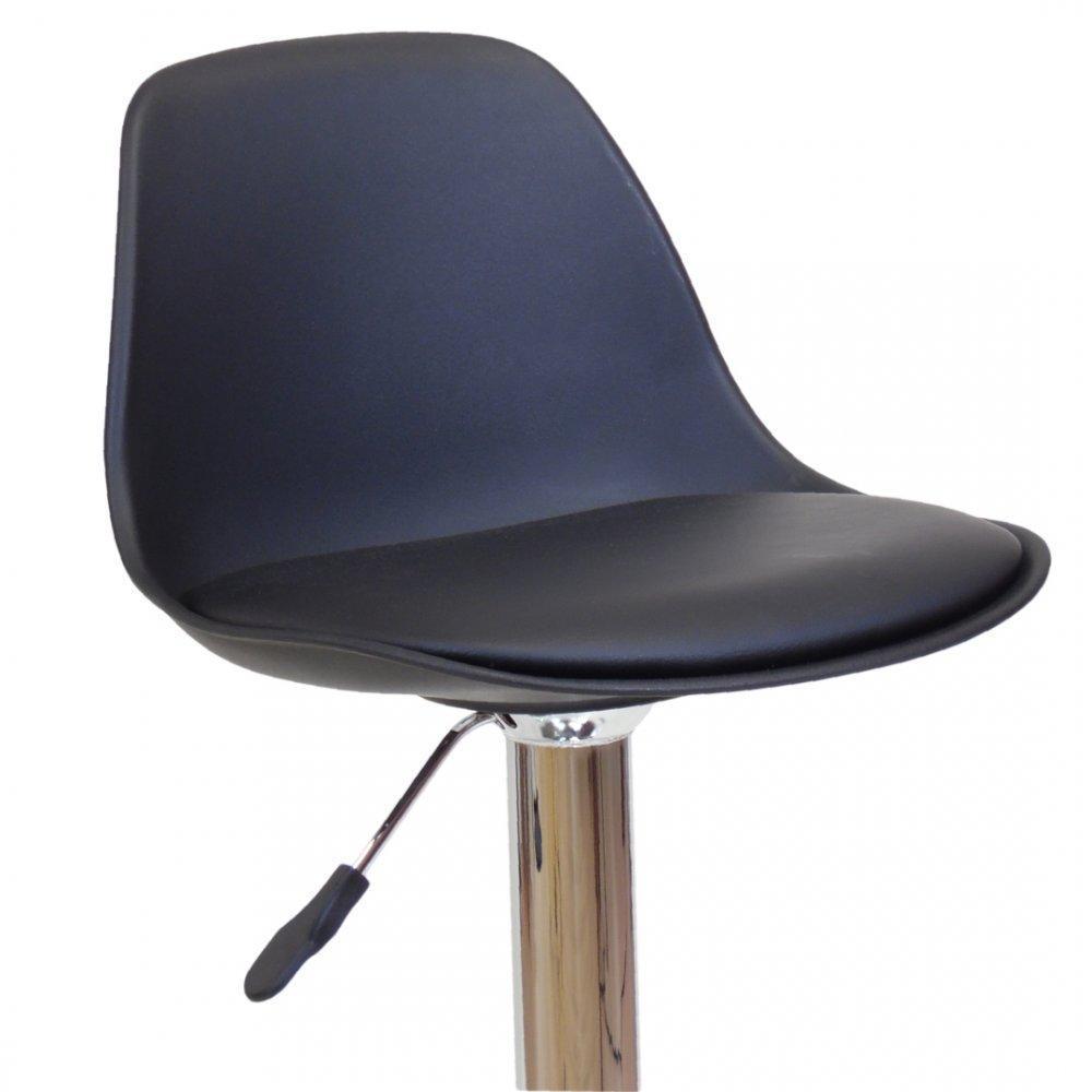 chaise de bar design tendance r tro au meilleur prix chaise de bar fruit design noire inside75. Black Bedroom Furniture Sets. Home Design Ideas