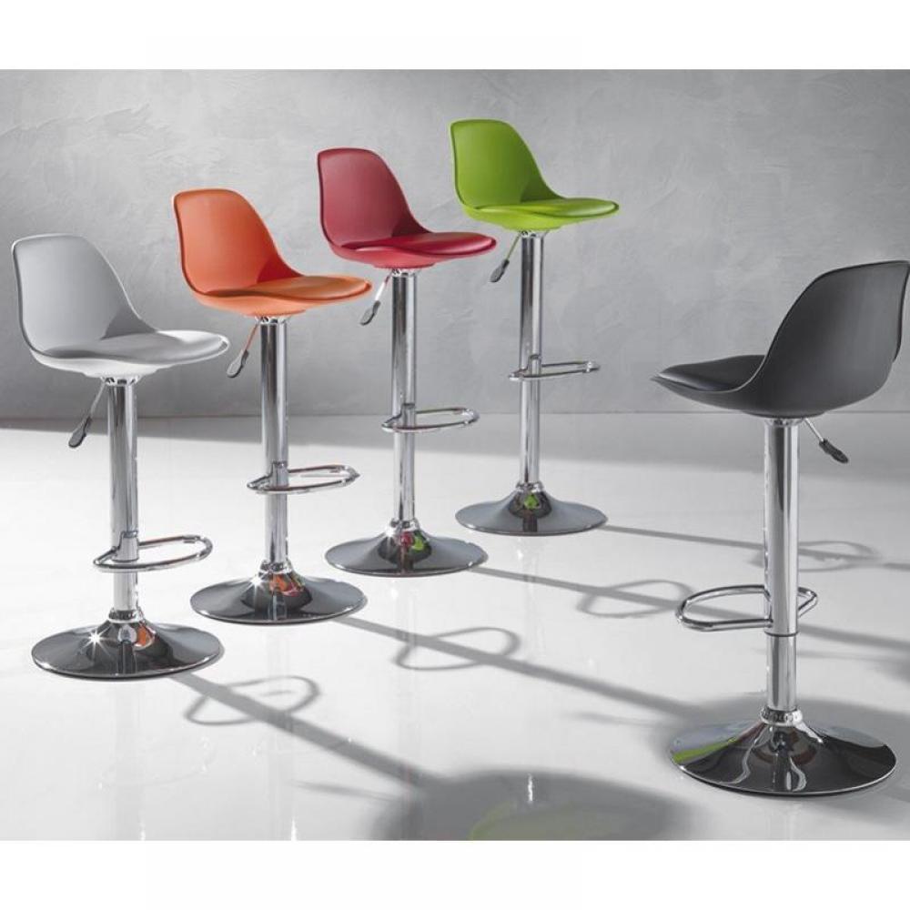 Chaise de bar design tendance r tro au meilleur prix chaise de bar fr - Chaises de bar rouge ...