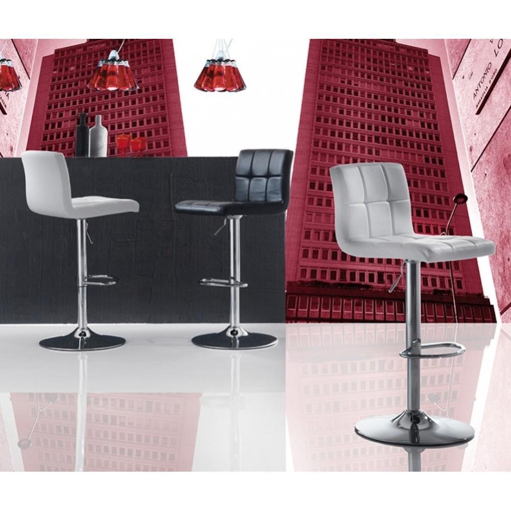 Chaise de bar design tendance r tro au meilleur prix chaise de bar jazz design rev tement for Chaise de bar design