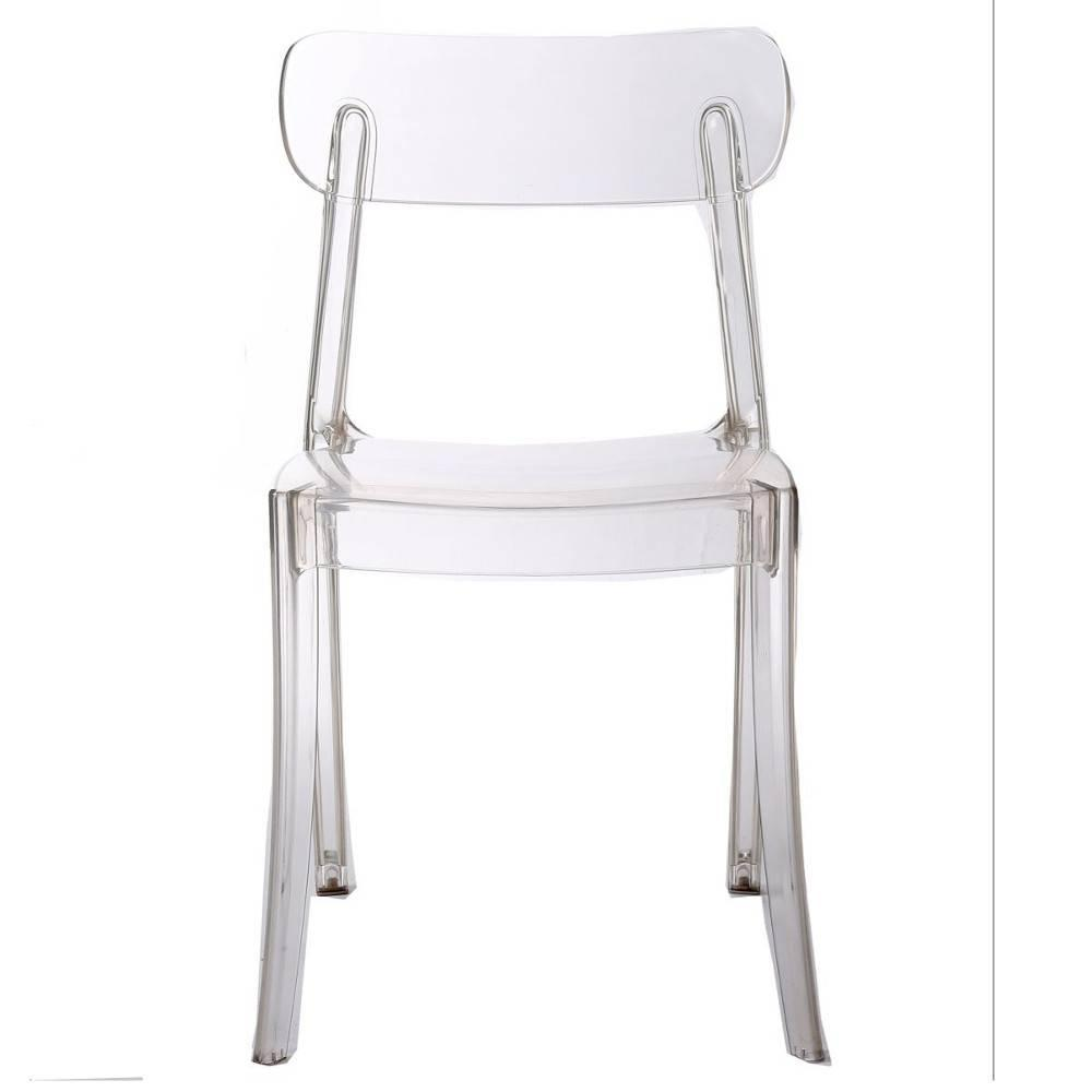 Chaise design ergonomique et stylis e au meilleur prix chaise design bistrot sixtees en - Chaise design polycarbonate ...