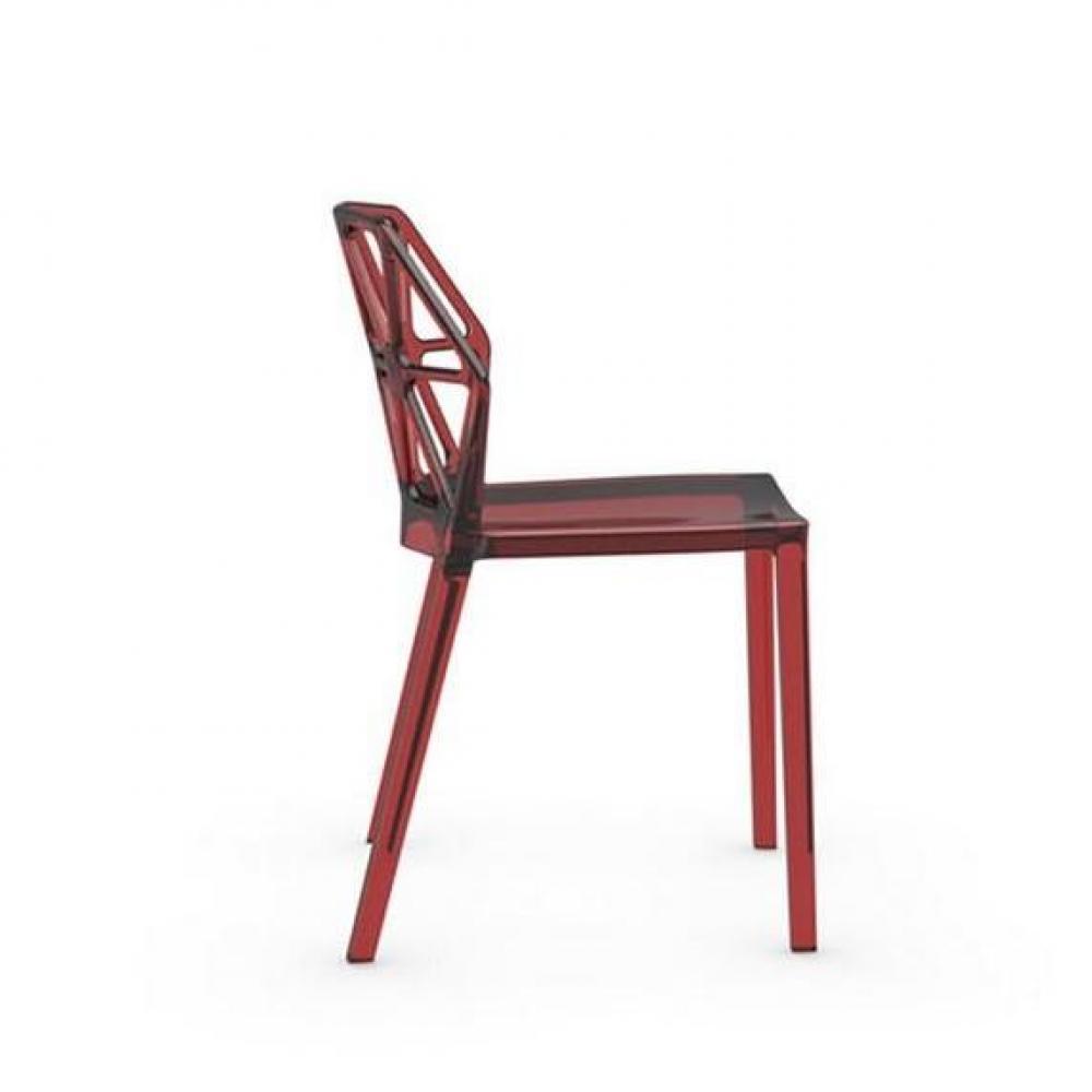 Chaise design ergonomique et stylis e au meilleur prix calligaris chaise des - Chaise design empilable ...