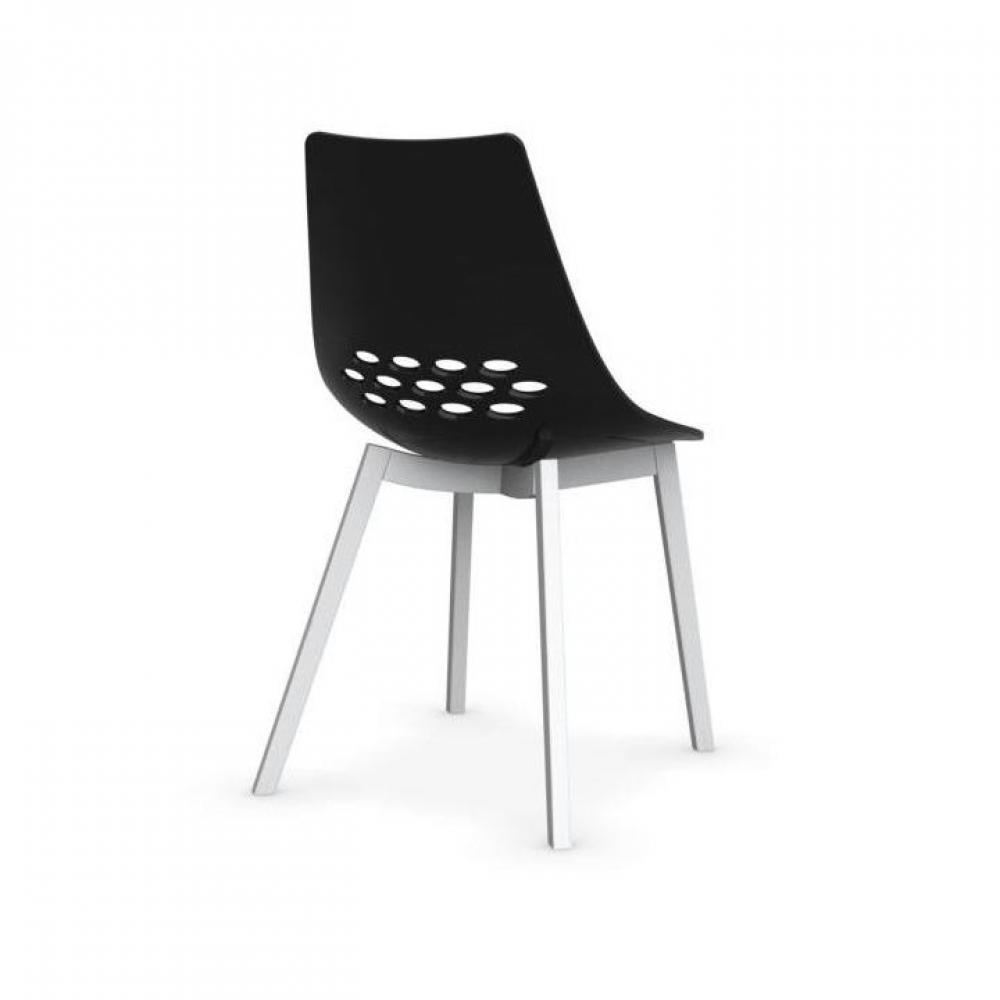 Chaise design ergonomique et stylis e au meilleur prix - Chaise design noir et blanc ...