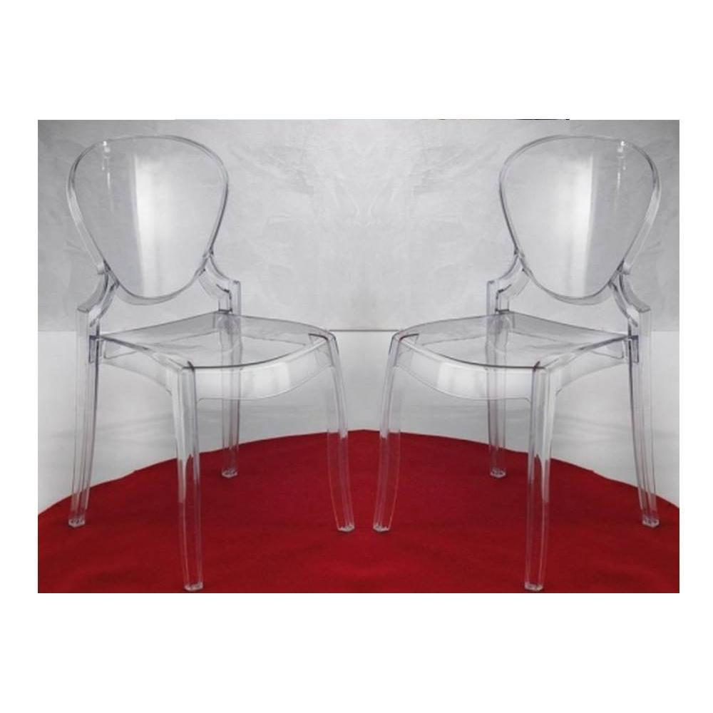 Chaise en plexiglas transparent zgbelt for Chaise en plexiglass