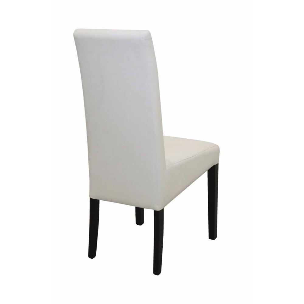 Chaise design ergonomique et stylis e au meilleur prix chaise design malm rev tement - Chaise noir et blanc design ...