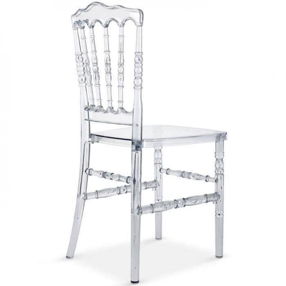 Chaise Design MARIE LOUISE En Polycarbonate Transparent