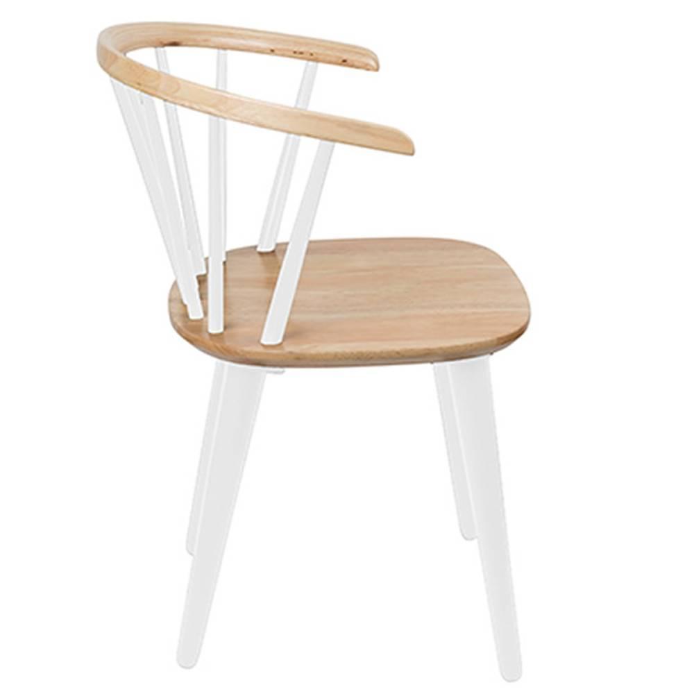 chaise design ergonomique et stylis e au meilleur prix chaise design glee blanche inside75. Black Bedroom Furniture Sets. Home Design Ideas