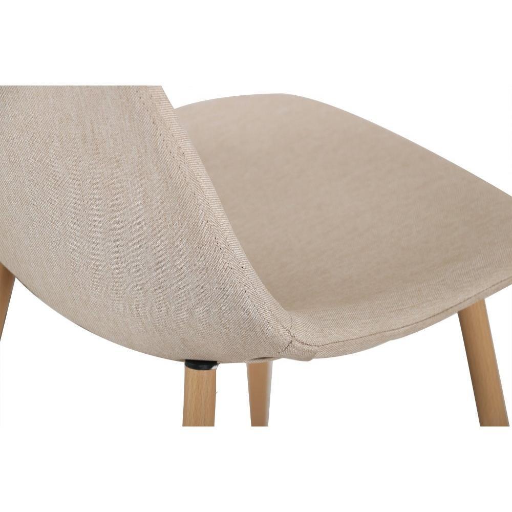 chaise design ergonomique et stylis e au meilleur prix chaise stockholm design tissu beige. Black Bedroom Furniture Sets. Home Design Ideas