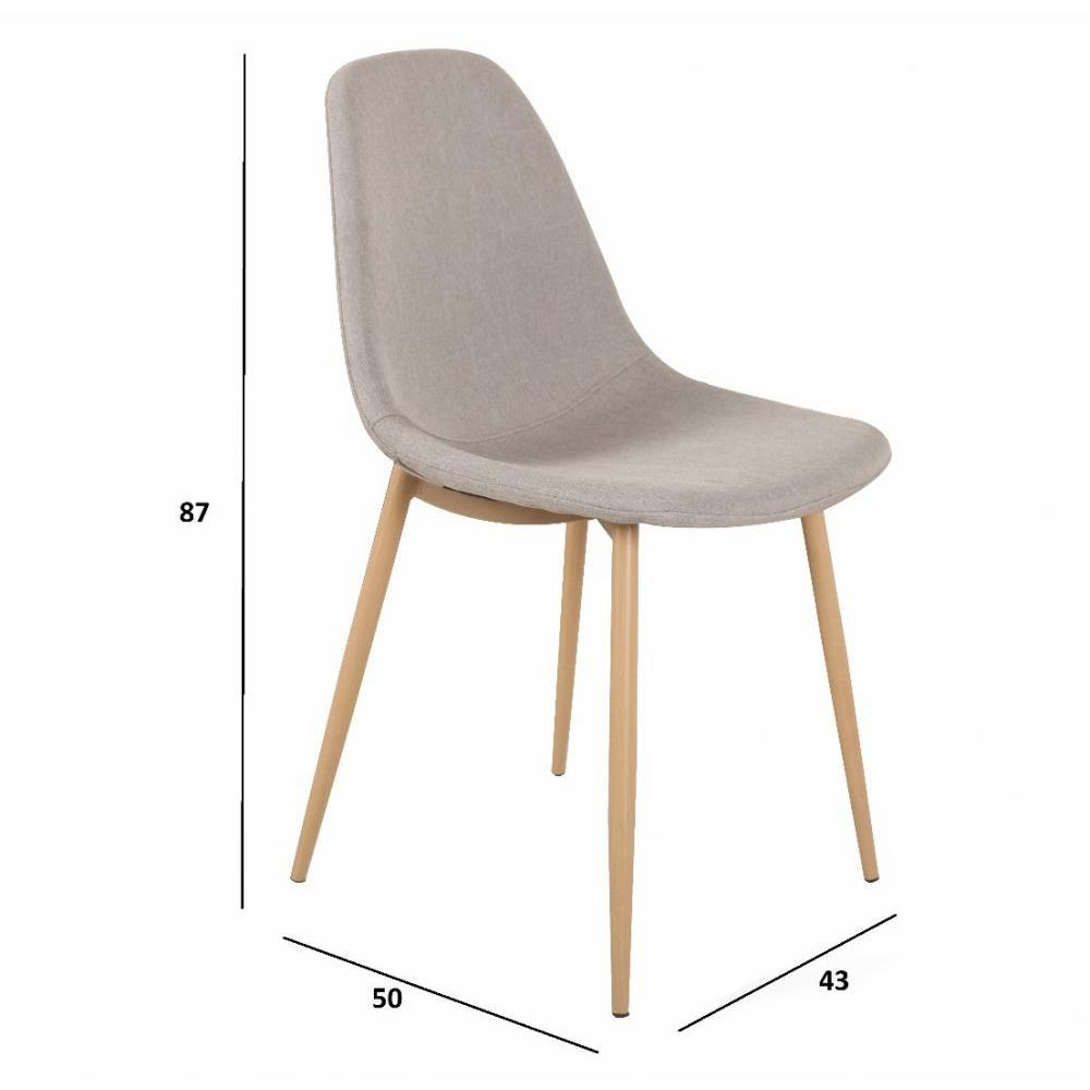 Chaise design ergonomique et stylis e au meilleur prix for Table chaise scandinave