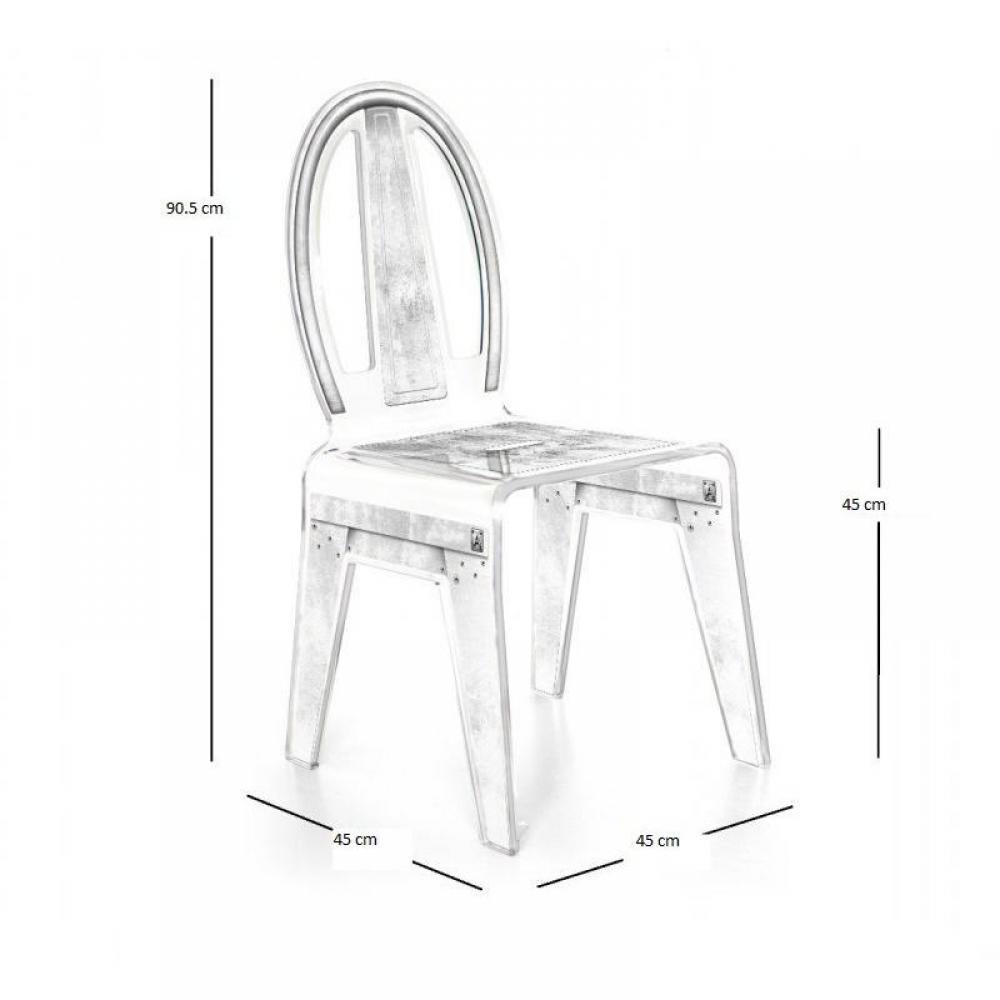 chaises meubles et rangements factory chaise design en plexi transparente par acrila inside75. Black Bedroom Furniture Sets. Home Design Ideas