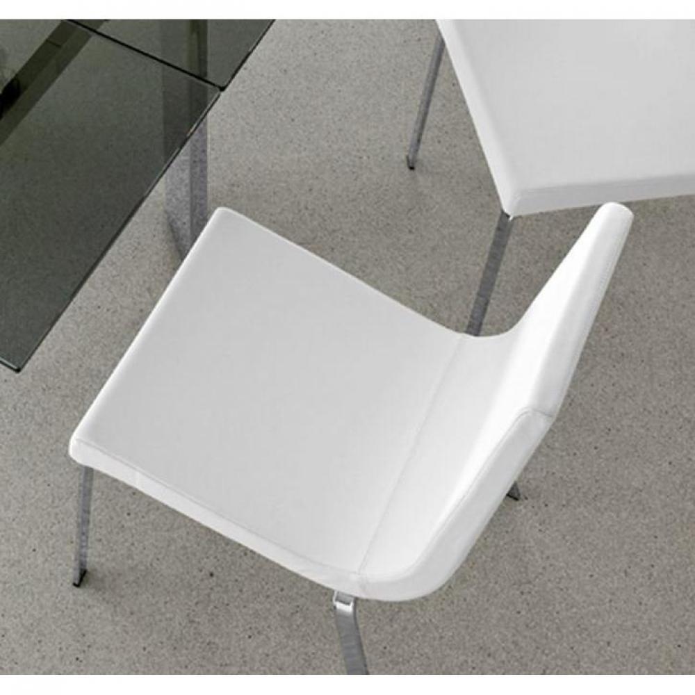 Gamme Haut Qszglupmv Cruiser Cuir Assise Chaise Blanc Optique De TJFK1cl