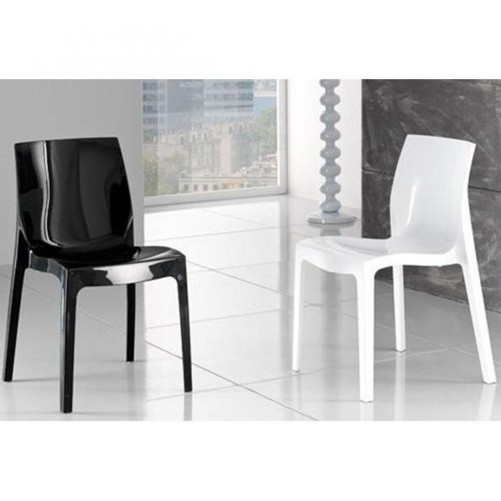 chaise de jardin design confortable au meilleur prix chaise ice empilable design gris. Black Bedroom Furniture Sets. Home Design Ideas