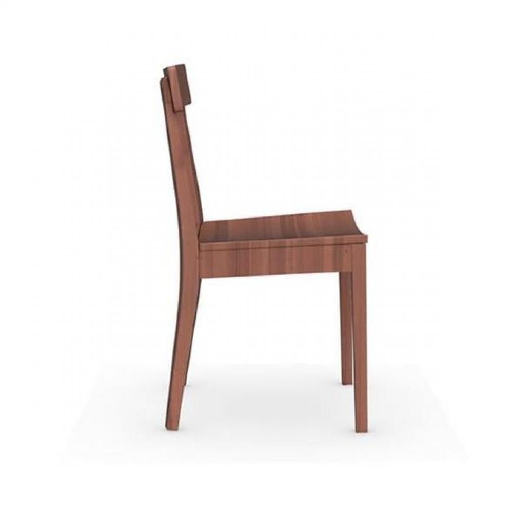 chaise design ergonomique et stylis e au meilleur prix chaise italienne la locanda noyer inside75. Black Bedroom Furniture Sets. Home Design Ideas