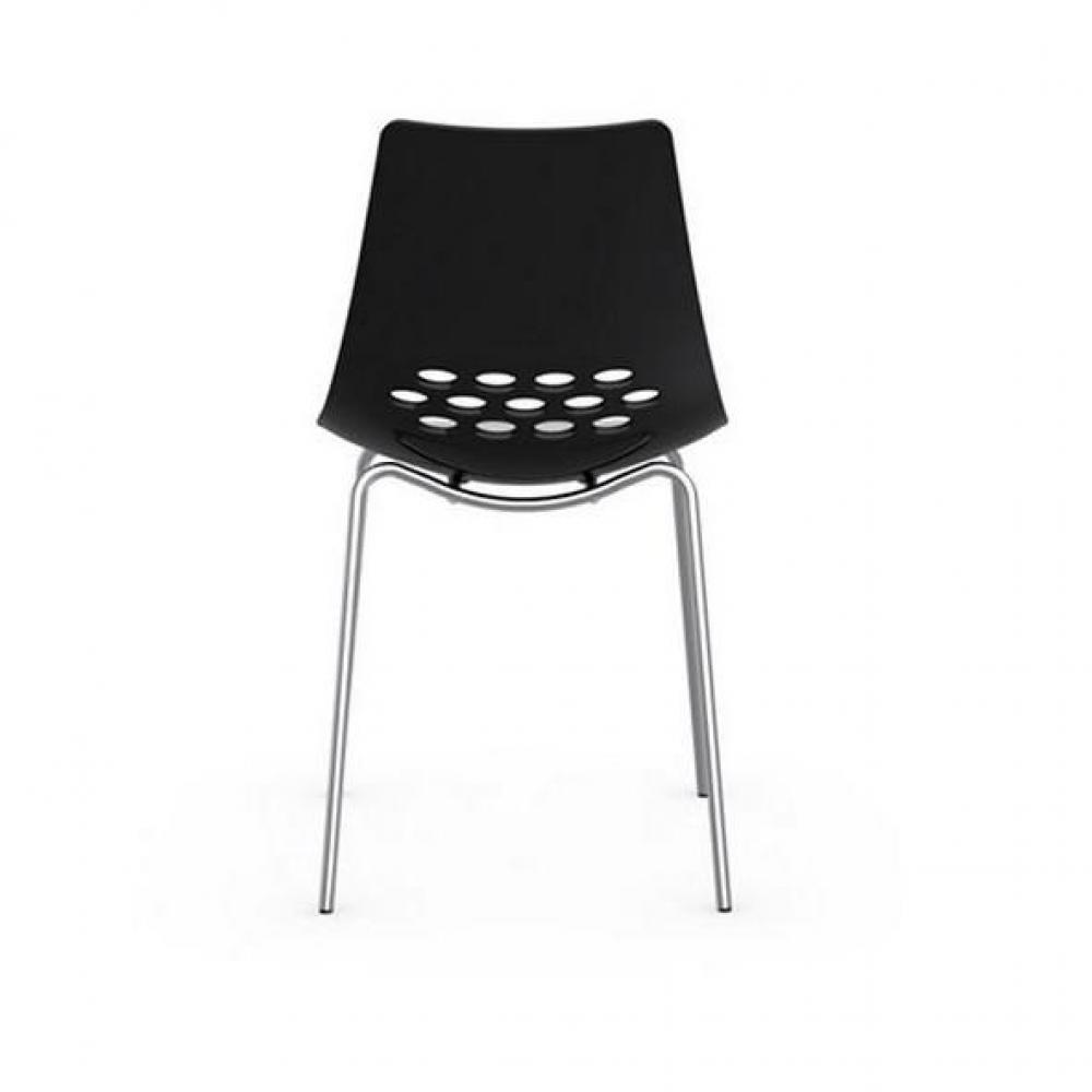Chaise design ergonomique et stylis e au meilleur prix - Chaise noir et blanche ...