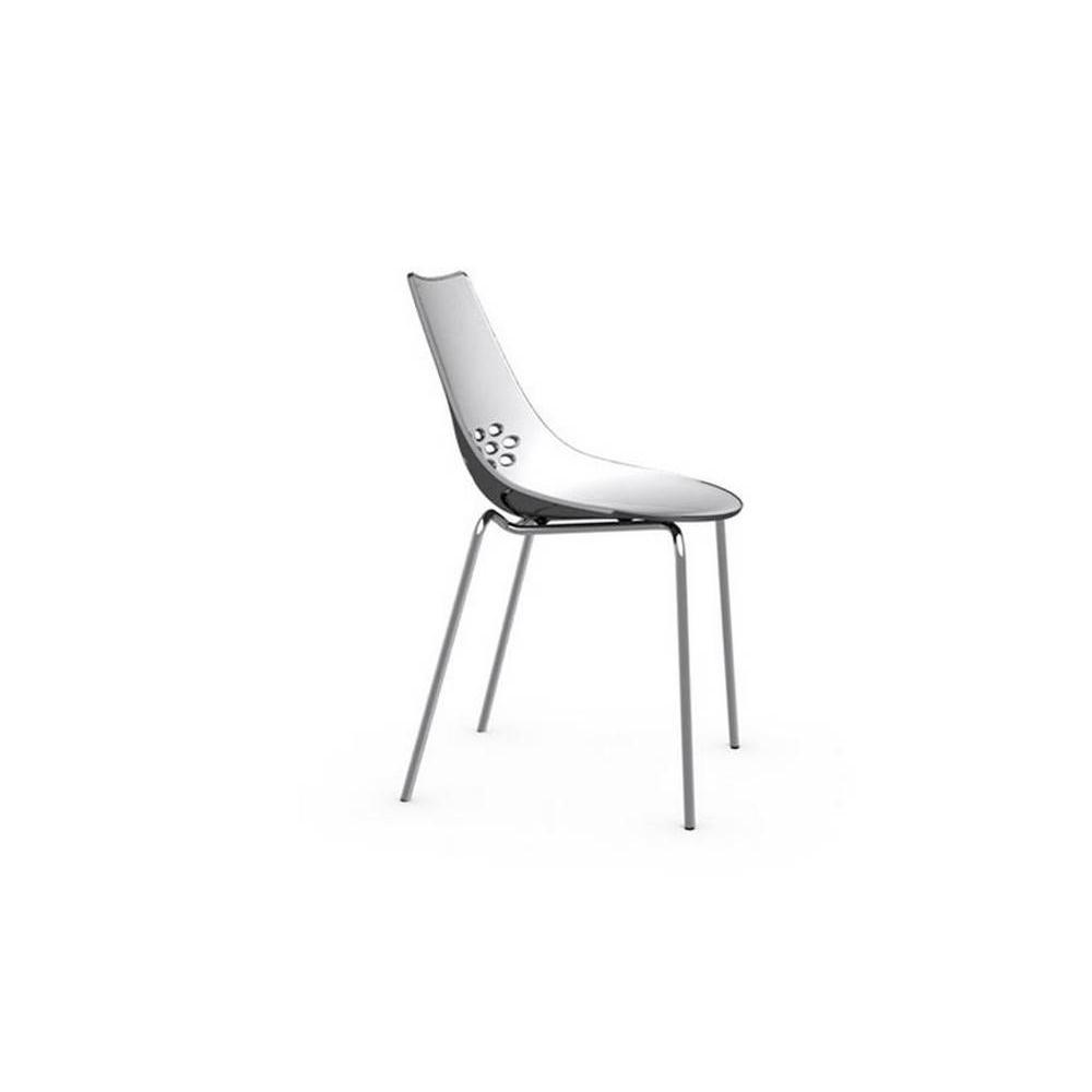 Table de repas design au meilleur prix table repas ronde for Chaise transparente solde