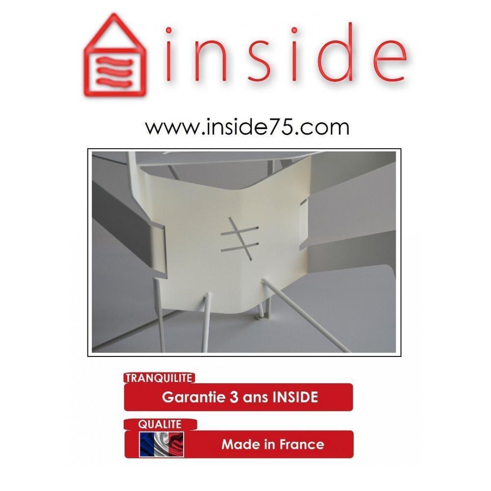 meubles de jardin meubles et rangements chaise acier spider blanc different different inside75. Black Bedroom Furniture Sets. Home Design Ideas