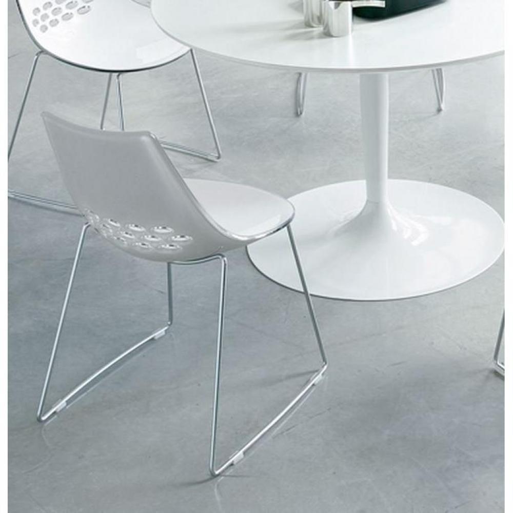 Tables tables et chaises calligaris table repas extensible key 130x89 en ve - Table transparente extensible ...