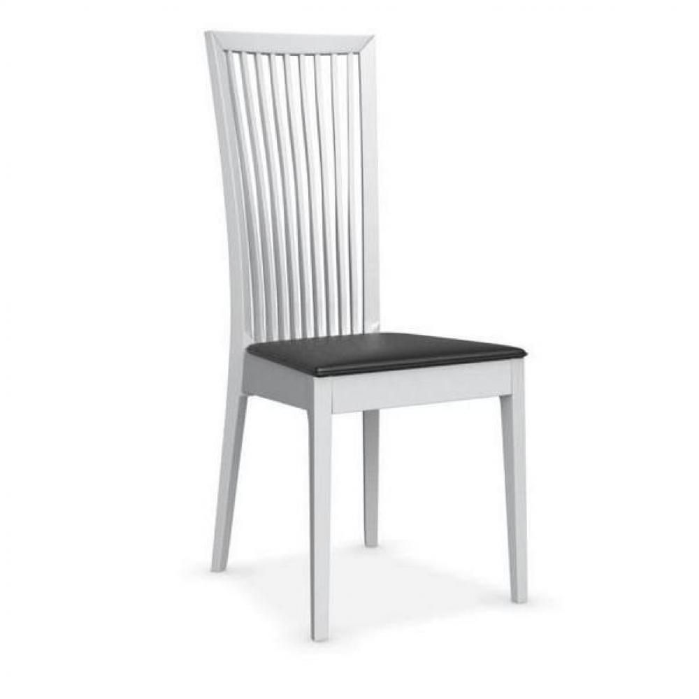 Chaise design ergonomique et stylis e au meilleur prix - Chaise blanche et noir ...