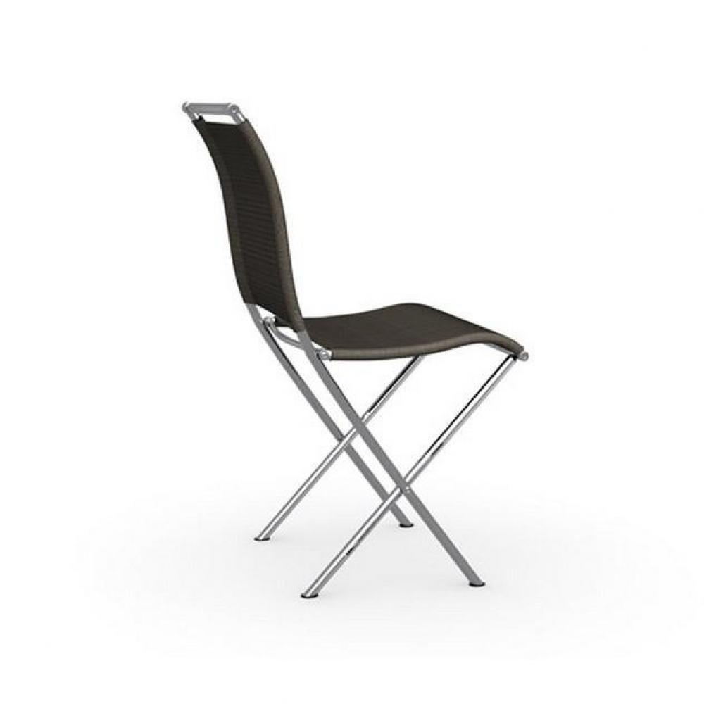 chaises pliantes design au meilleur prix chaise pliante design air folding de calligaris. Black Bedroom Furniture Sets. Home Design Ideas