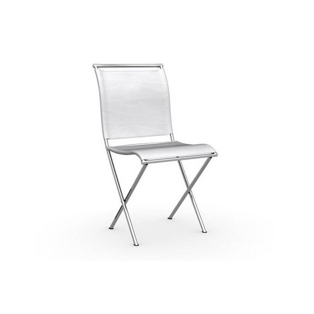 chaises pliantes design au meilleur prix chaise pliante design air folding structure acier. Black Bedroom Furniture Sets. Home Design Ideas