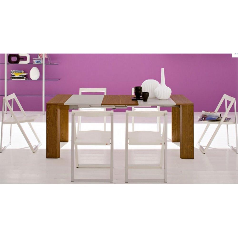 chaises pliantes design au meilleur prix chaise pliante skip blanche et aluminium satin inside75. Black Bedroom Furniture Sets. Home Design Ideas