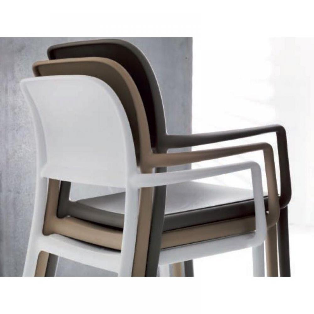 chaise de jardin design confortable au meilleur prix lot de 2 chaises river b empilables. Black Bedroom Furniture Sets. Home Design Ideas