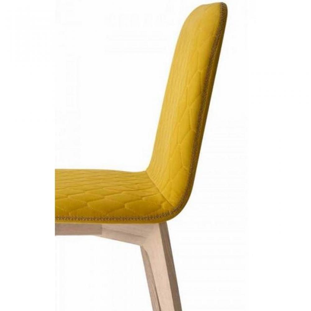 chaise design ergonomique et stylis e au meilleur prix chaise sami pi tement bois naturel. Black Bedroom Furniture Sets. Home Design Ideas
