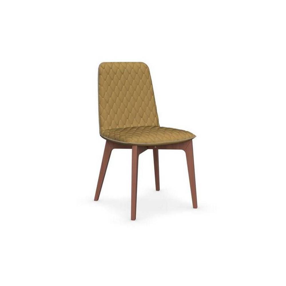 Chaise design ergonomique et stylis e au meilleur prix for Chaise jaune moutarde