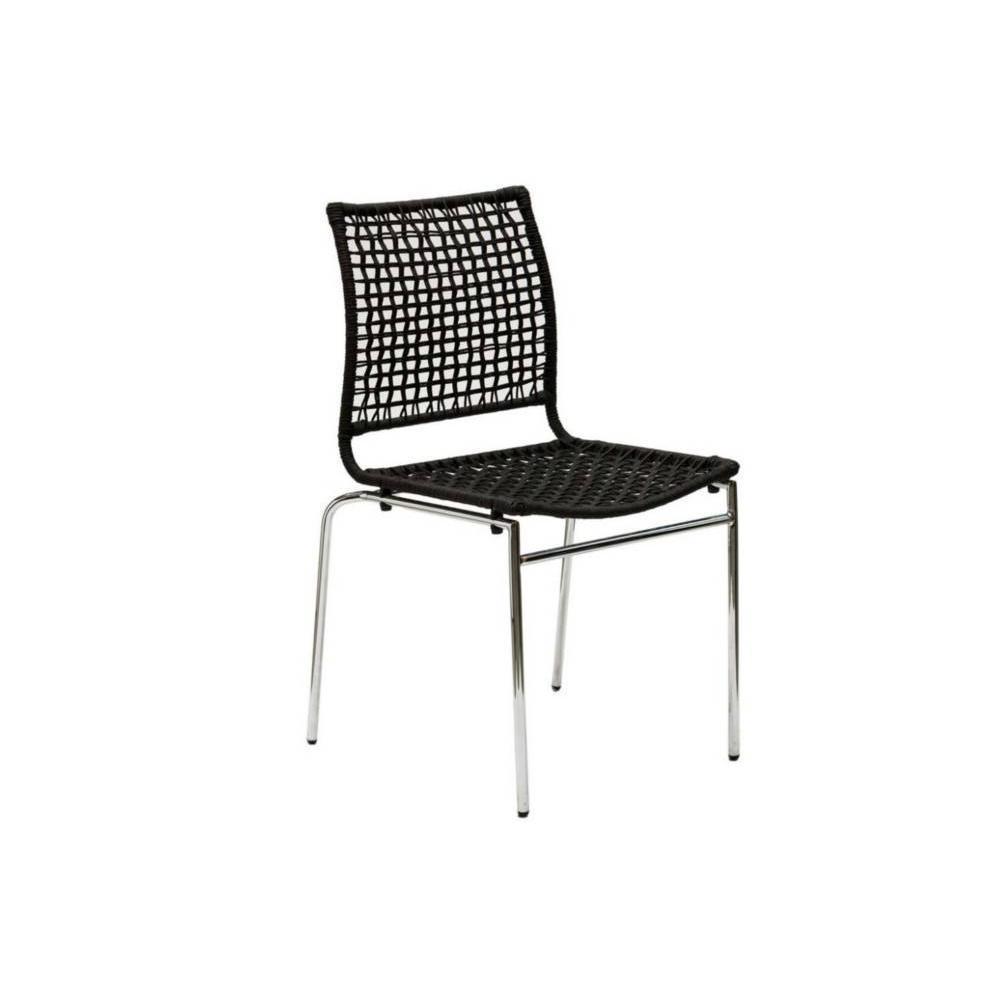 chaise design ergonomique et stylis e au meilleur prix chaise korda design noir inside75. Black Bedroom Furniture Sets. Home Design Ideas