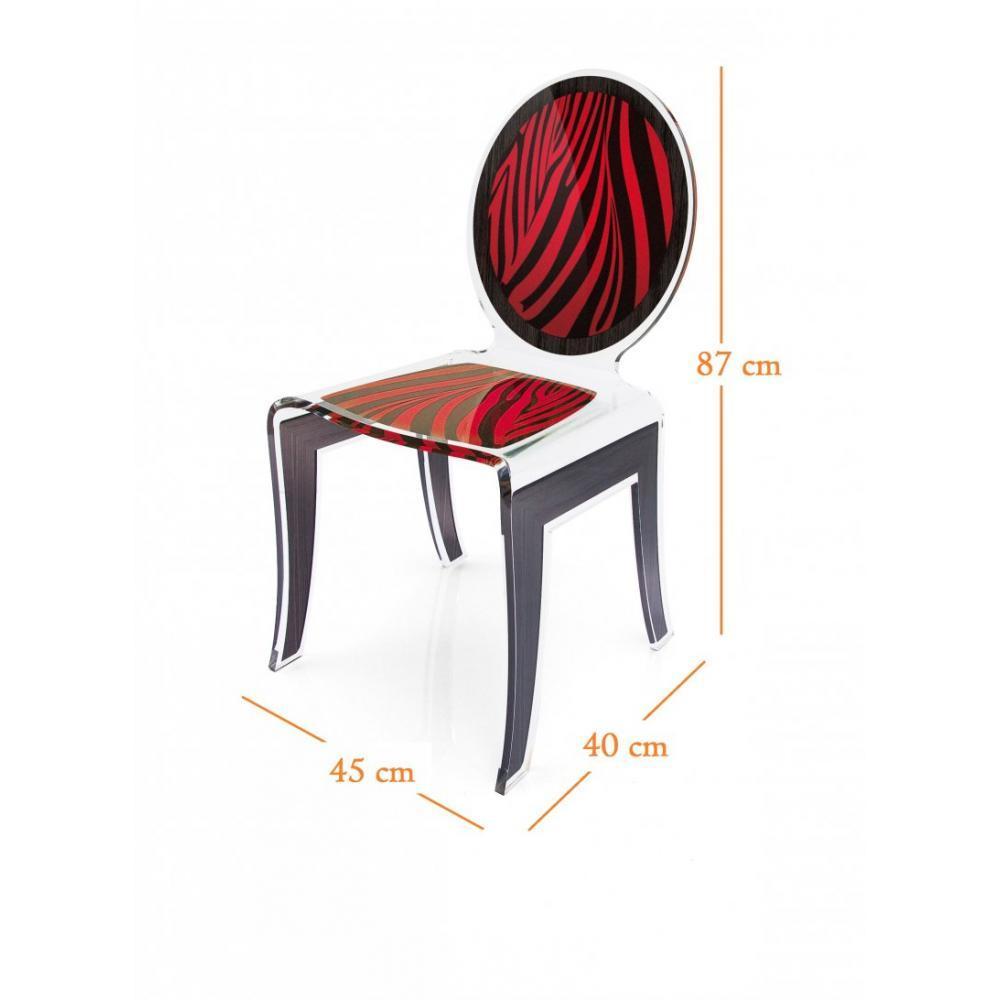 chaise design ergonomique et stylis e au meilleur prix wild chaise design en plexi z br e noir. Black Bedroom Furniture Sets. Home Design Ideas