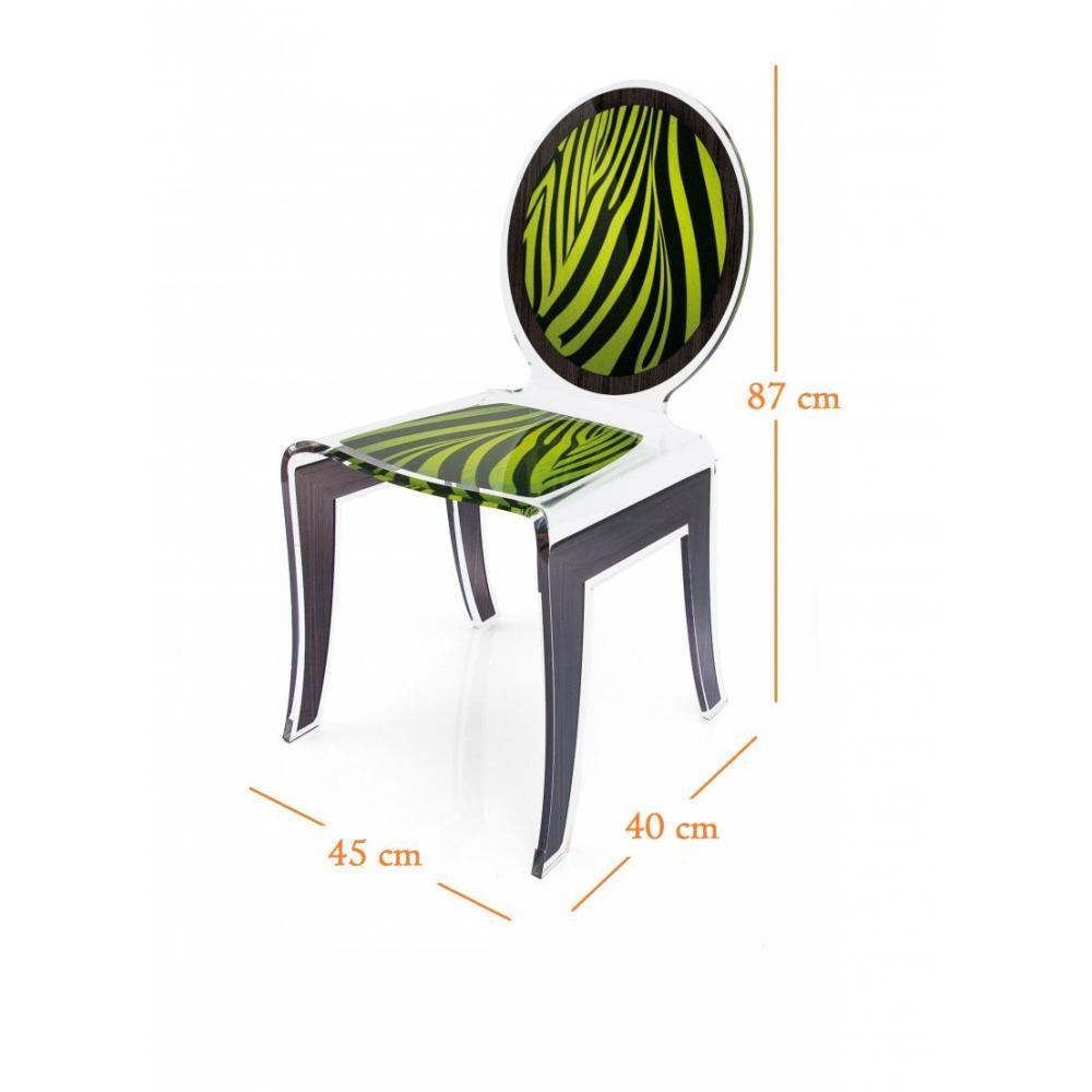 Chaises meubles et rangements wild chaise design en for Chaise design plexi