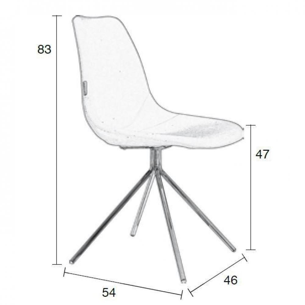 chaises meubles et rangements chaise zuiver fourteen violette inside75. Black Bedroom Furniture Sets. Home Design Ideas