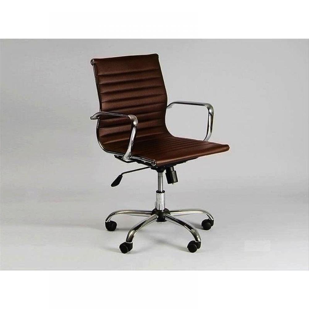fauteuils de bureau meubles et rangements chaise haute de bureau design boss marron inside75. Black Bedroom Furniture Sets. Home Design Ideas