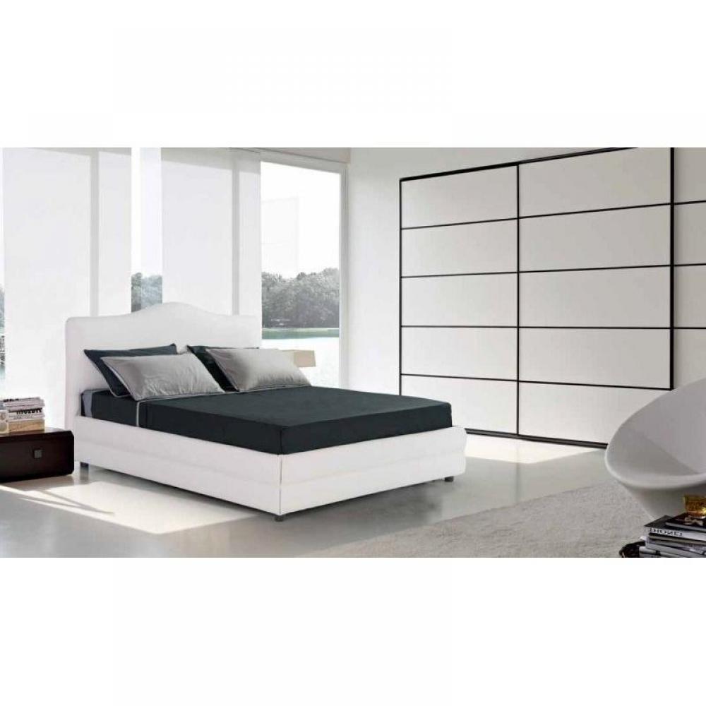 lits coffres chambre literie lit coffre design charlotte couchage 140 190cm inside75. Black Bedroom Furniture Sets. Home Design Ideas