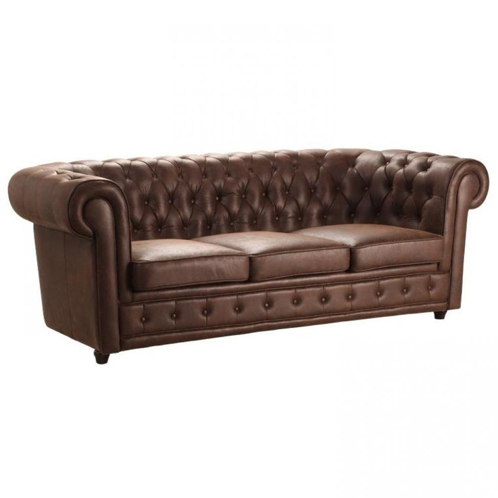 canap s chesterfield canap s ouverture express canap chesterfield deluxe 3 places microfibres. Black Bedroom Furniture Sets. Home Design Ideas