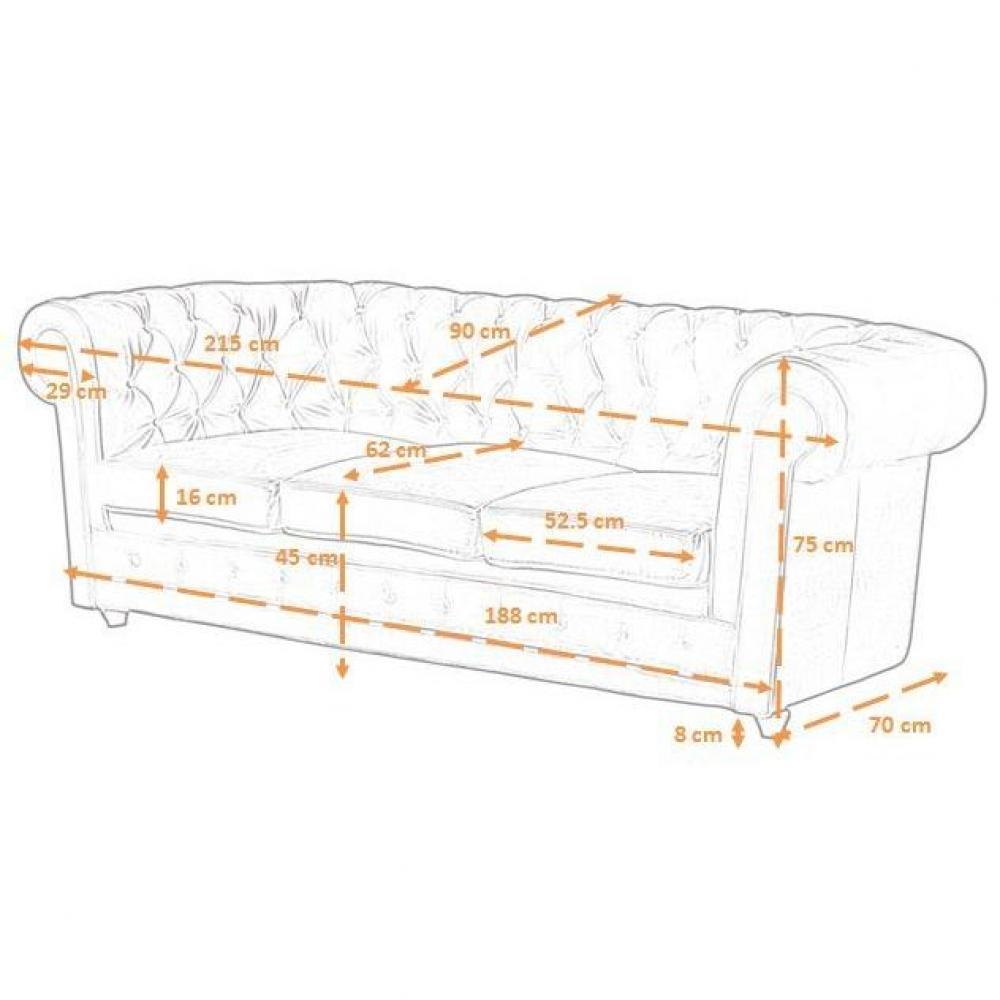 canap chesterfield en cuir velour au meilleur prix canap chesterfield deluxe en lin blanc. Black Bedroom Furniture Sets. Home Design Ideas