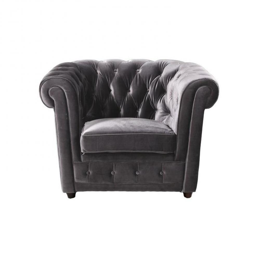 canap chesterfield en cuir velour au meilleur prix fauteuil chesterfield deluxe en velours. Black Bedroom Furniture Sets. Home Design Ideas