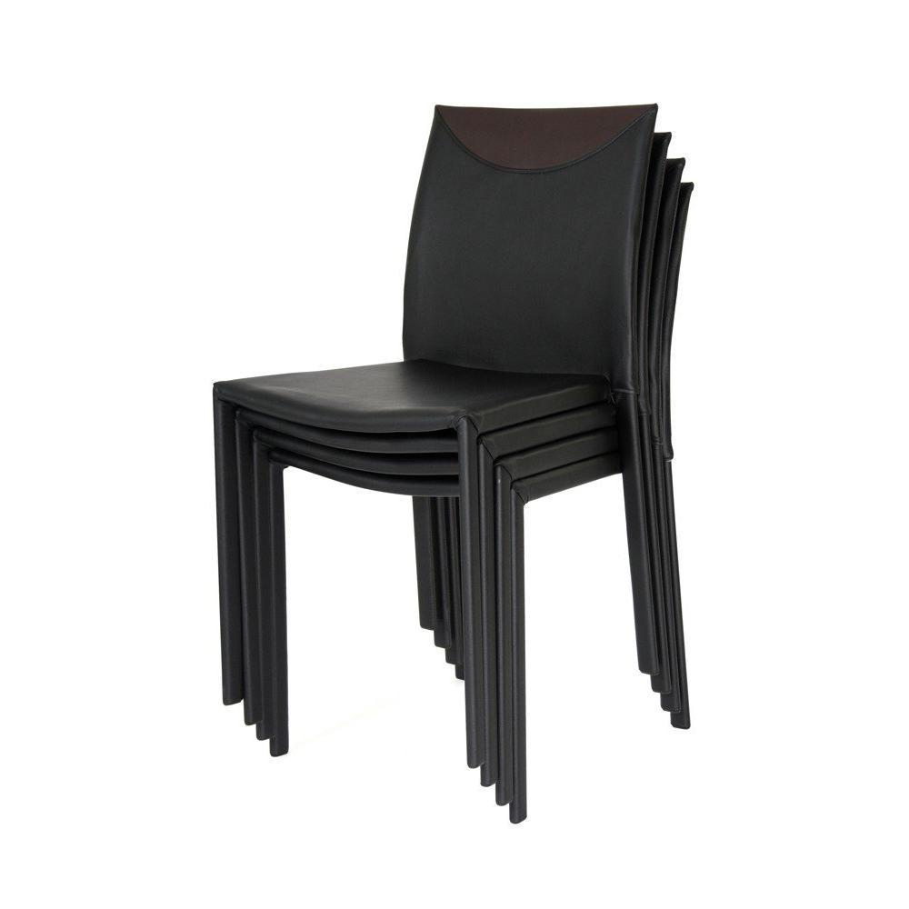 chaises meubles et rangements chicago chaise empilable. Black Bedroom Furniture Sets. Home Design Ideas