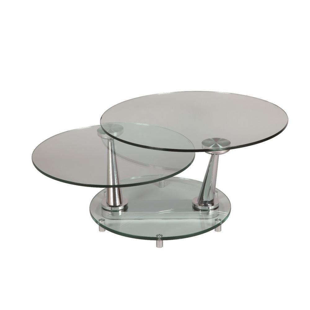 ehrf rchtige table basse en verre ronde id es de conception de table basse. Black Bedroom Furniture Sets. Home Design Ideas