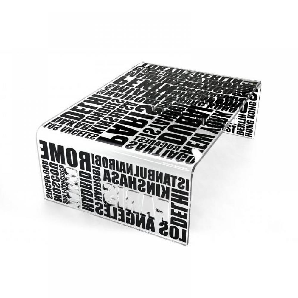 tables basses meubles et rangements table basse city noir plexiglass design acrila inside75. Black Bedroom Furniture Sets. Home Design Ideas