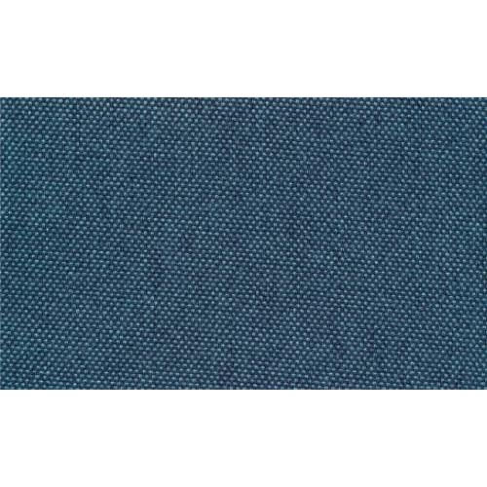 Canapé clic-clac HELSINKI bleu azur convertible style scandinave couchage 110*180cm