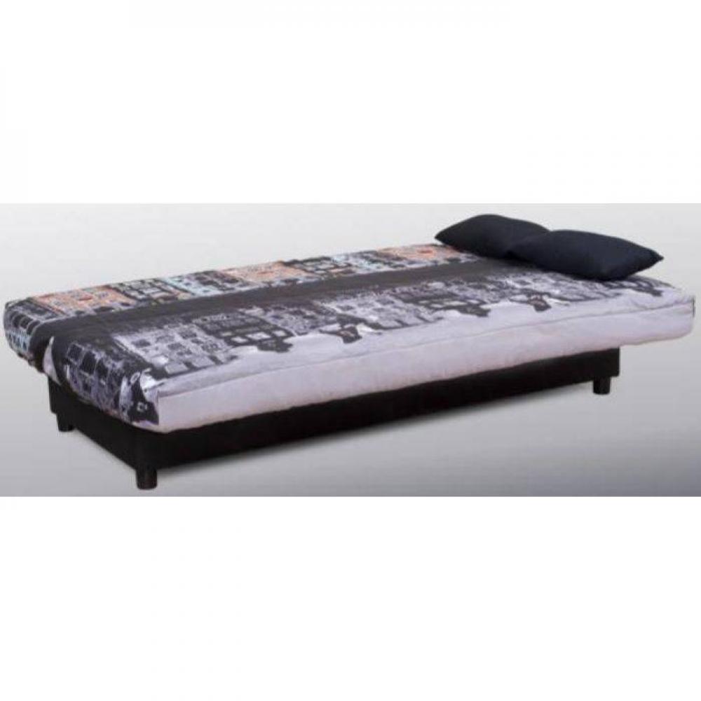 canap lit clic clac au meilleur prix clic clac convertible limerick imprim amsterdam 120. Black Bedroom Furniture Sets. Home Design Ideas