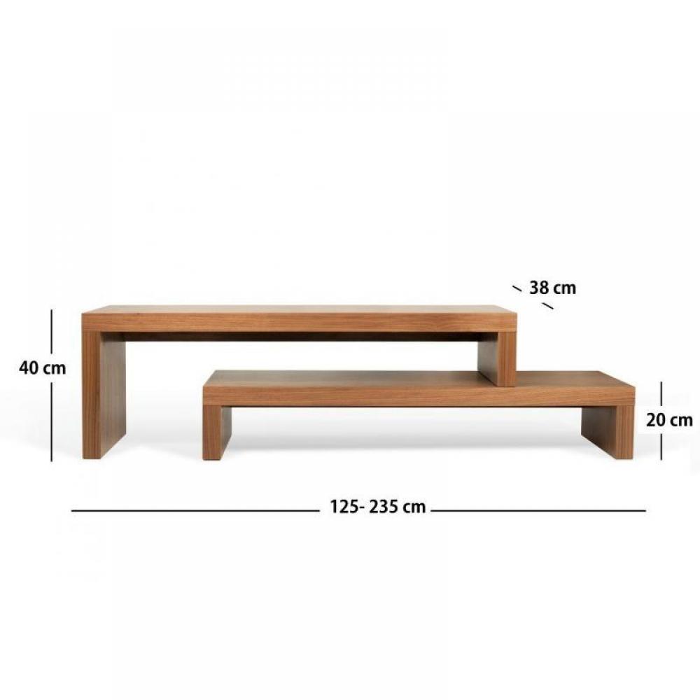 meubles tv meubles et rangements cliff 120 meuble tv. Black Bedroom Furniture Sets. Home Design Ideas