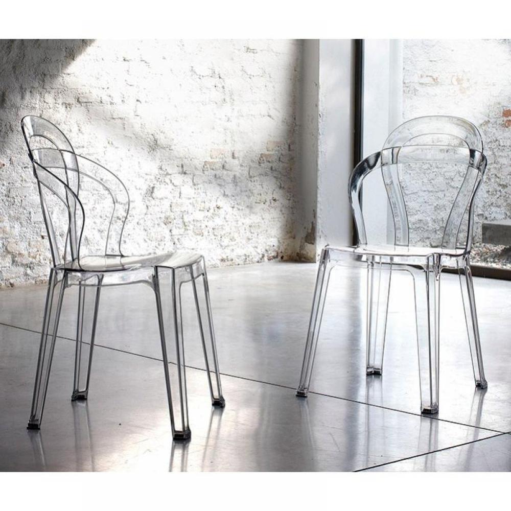 chaise design ergonomique et stylis e au meilleur prix clochette chaise design en plexi. Black Bedroom Furniture Sets. Home Design Ideas
