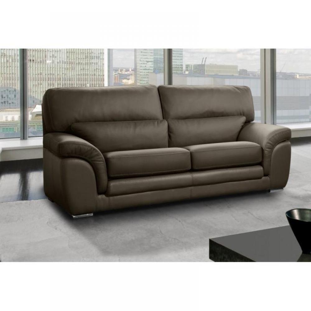 Canap fixe confortable design au meilleur prix cloe - Canape 6 places cuir ...