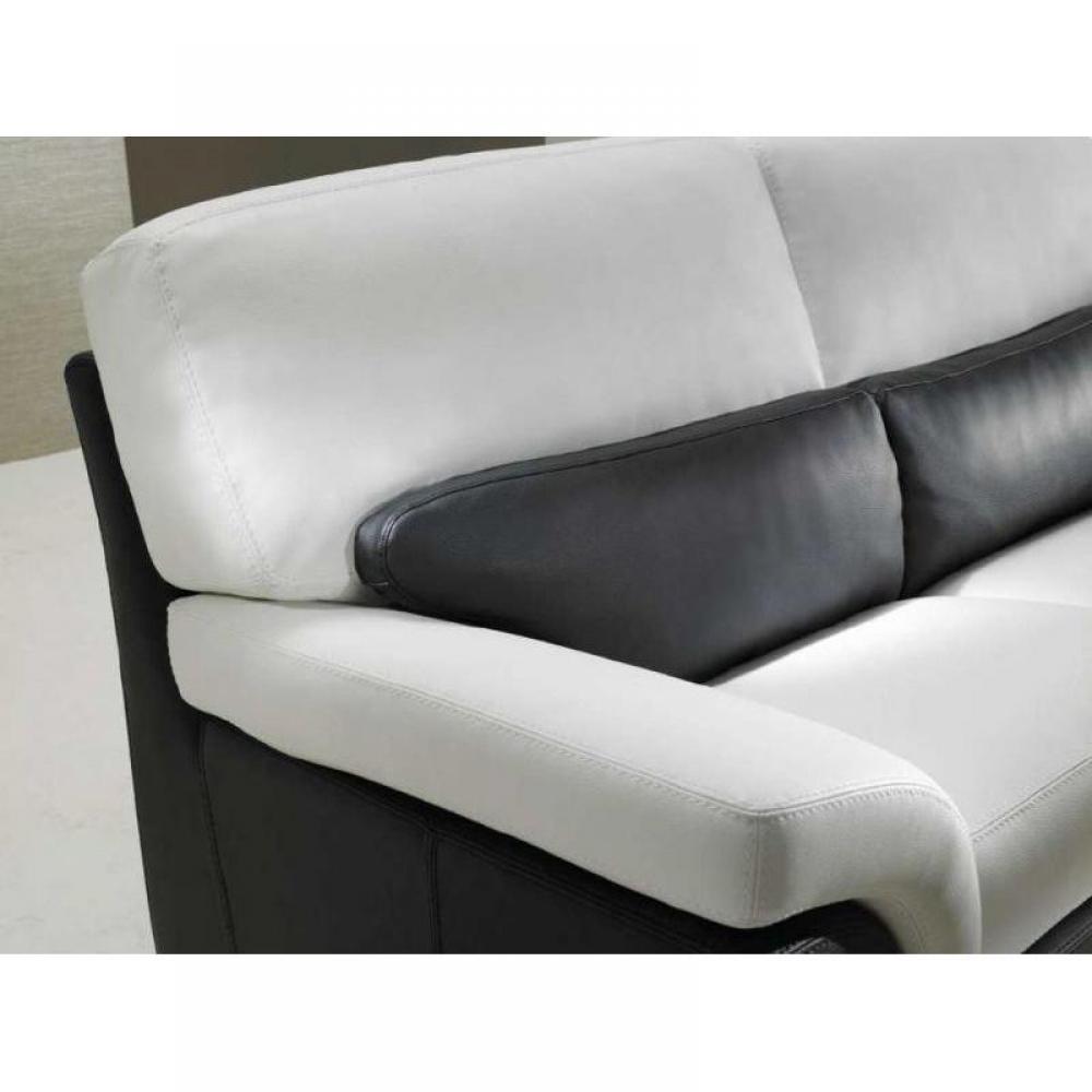 Canap fixe confortable design au meilleur prix clo for Canape cuir 75
